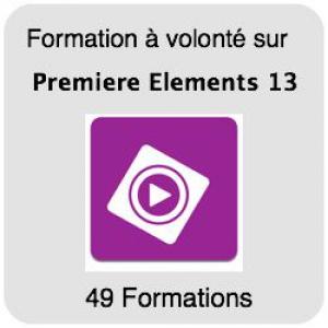 Formez-vous sur Premiere Elements  13