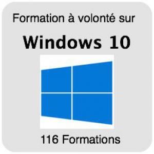 Formez-vous sur Windows 10