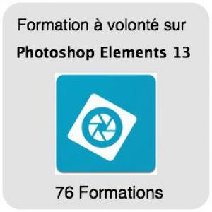 Formez-vous sur Photoshop Elements 13